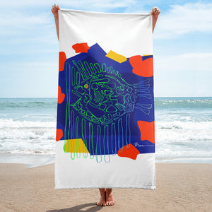 Neon Surgeon - Sublimation Towel