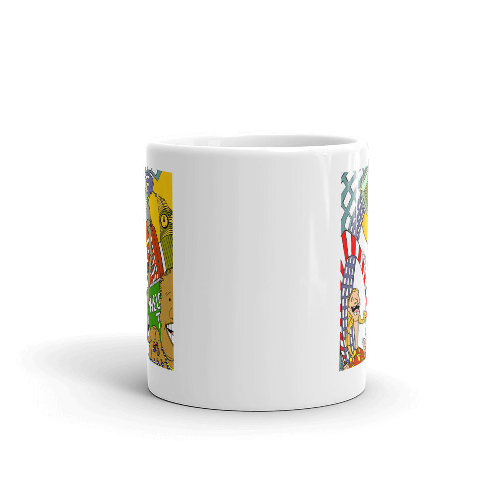 """Sugar Surreal"" Ceramic Mug"