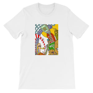 """Sugar Surreal"" - Short-Sleeve Unisex T-Shirt"