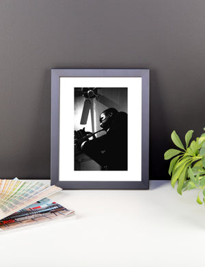 """Roy's Biggest Fan"" (The Jazz Gallery NYC) - Framed photo paper poster"