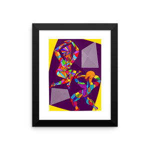"""Groove Me!"" - Framed photo paper poster"