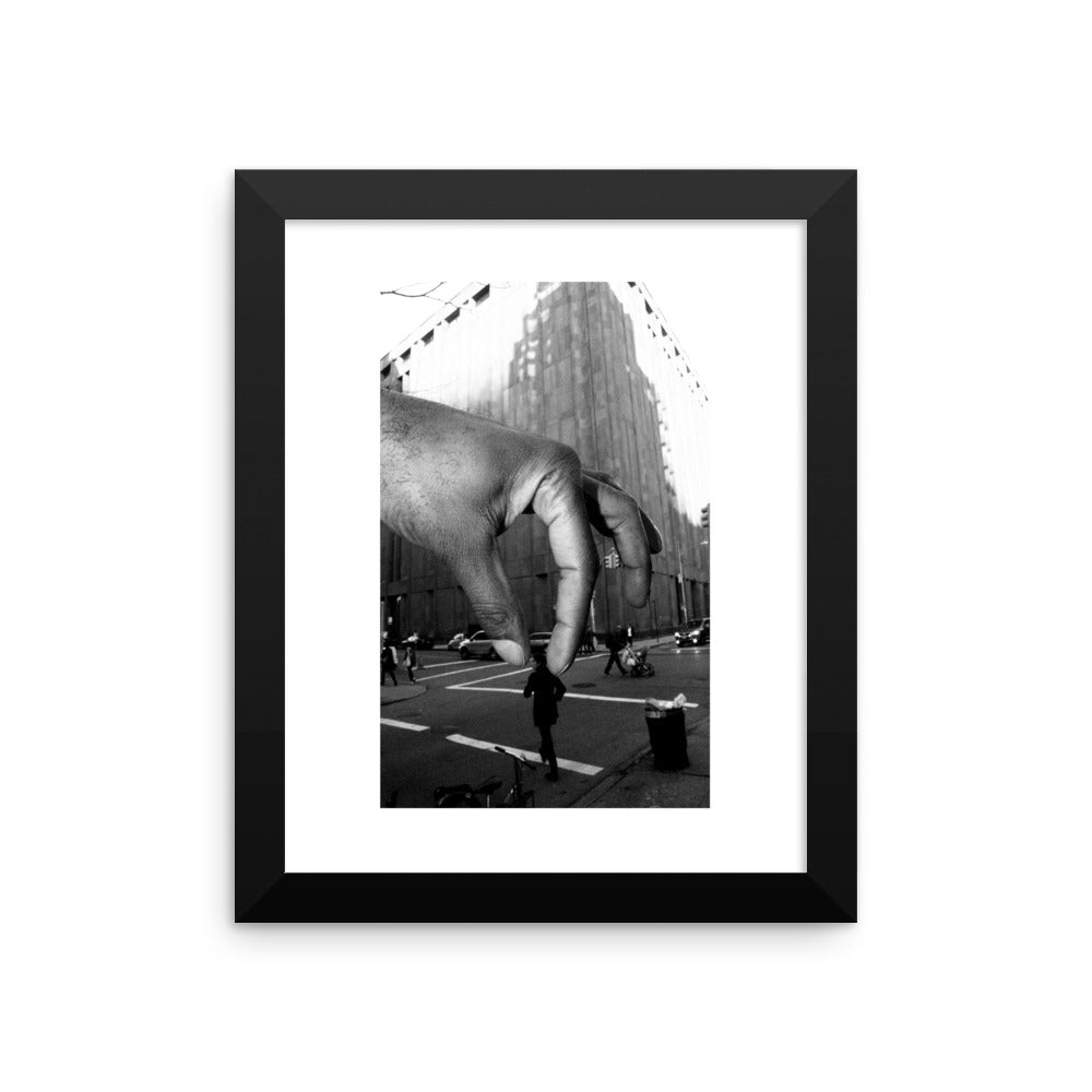 """The Black Man Is God"" - Framed photo paper poster"