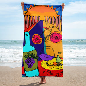 Beach Brunch - Sublimation Towel