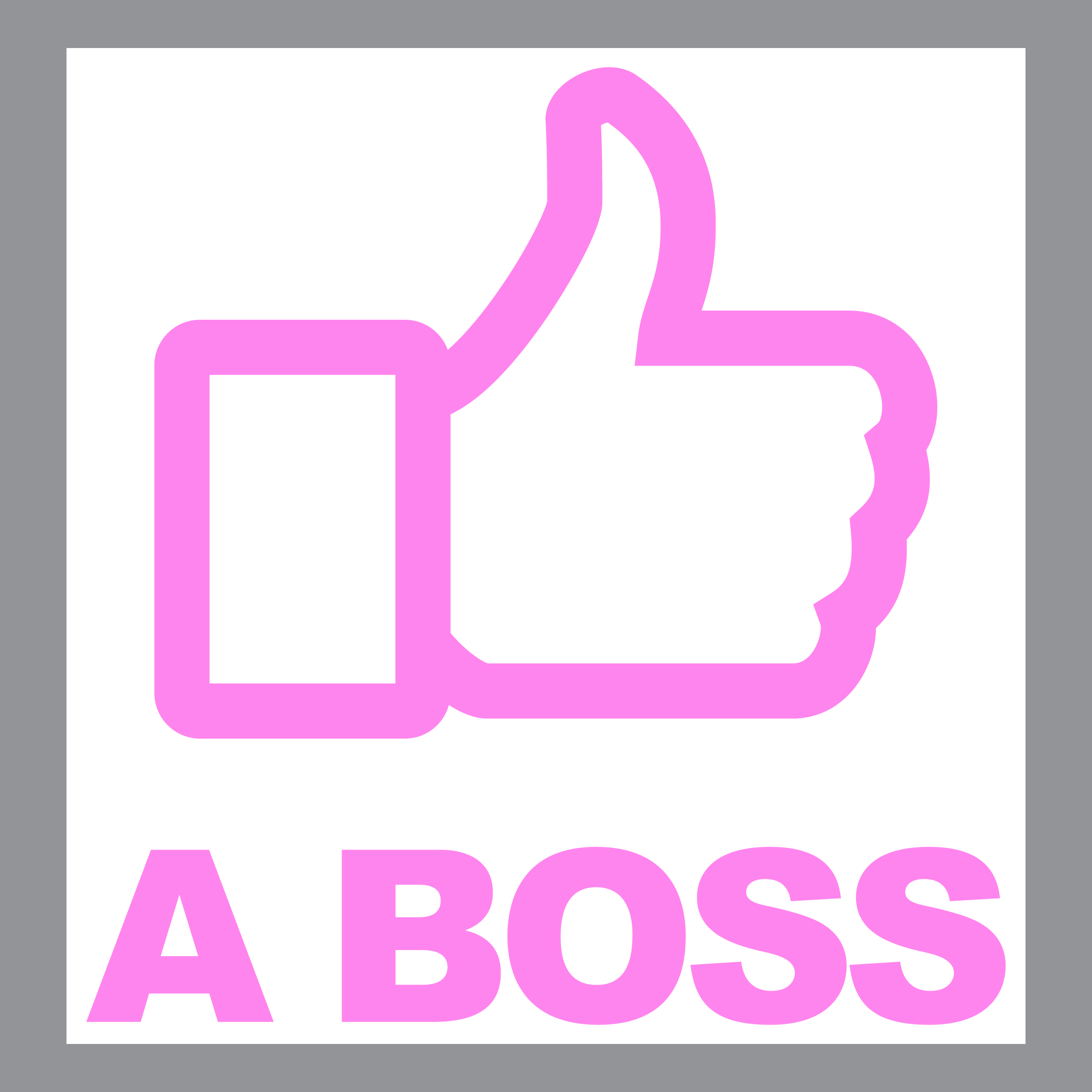 Like A Boss Decal