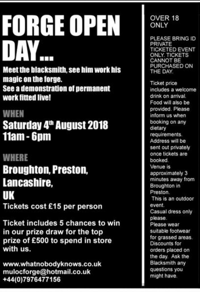 Forge Open Day