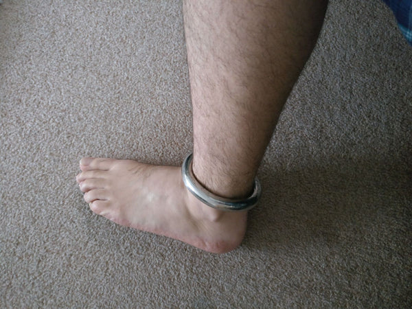 PERMANENT Ankle Shackle !!!!!