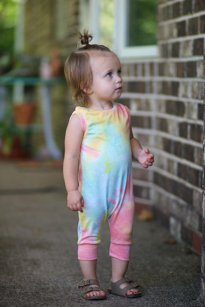 Tie Dying Rompers