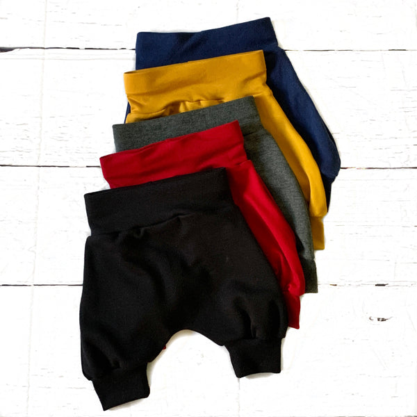 Solid Staple Cropped Joggers (multiple color options available)