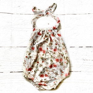 Little Wildflower Sunsuit Romper