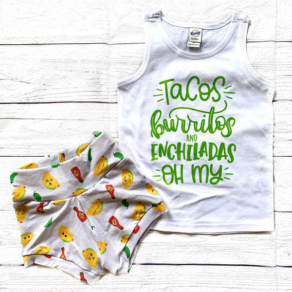 Let's Taco 'bout the Cutest Shorts!!!