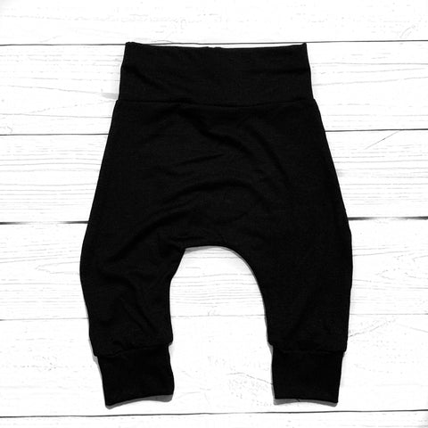 Everyday black joggers