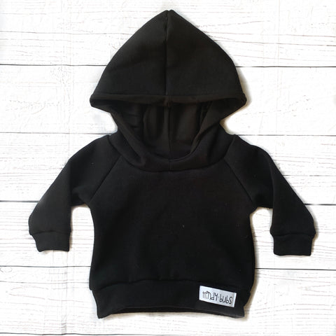 All Black Sweatshirt Hoodie