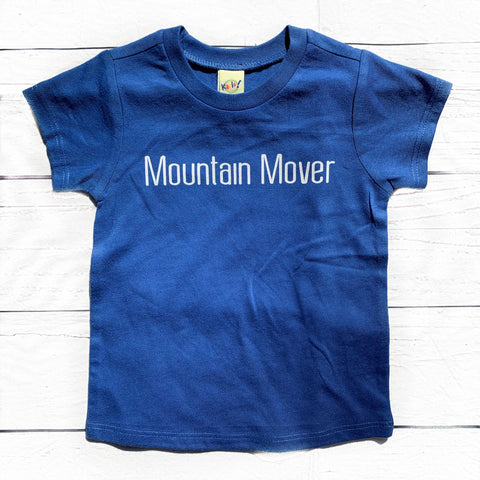 Mountain Mover Blue Tee
