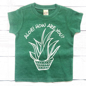 Aloe! How are you? Green Tee