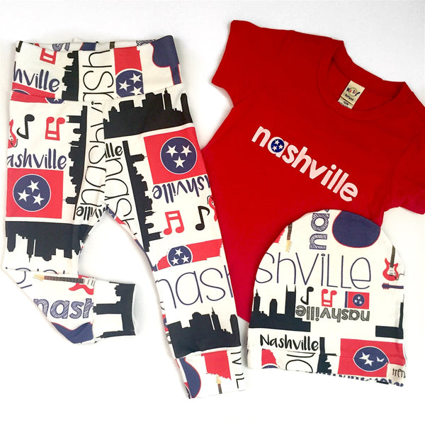 """Nashville"" themed leggings"