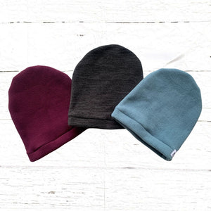 Cozy Fleece Slouchy Hats