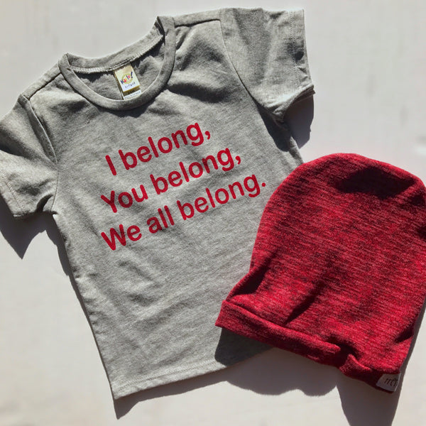 We All Belong Tee