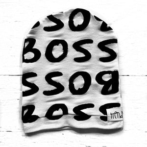 "Like a ""BOSS"" Slouchy Hat"
