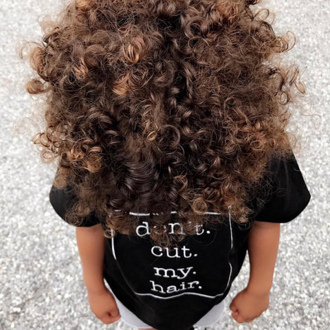 """Don't Cut My Hair"" short sleeve tee"