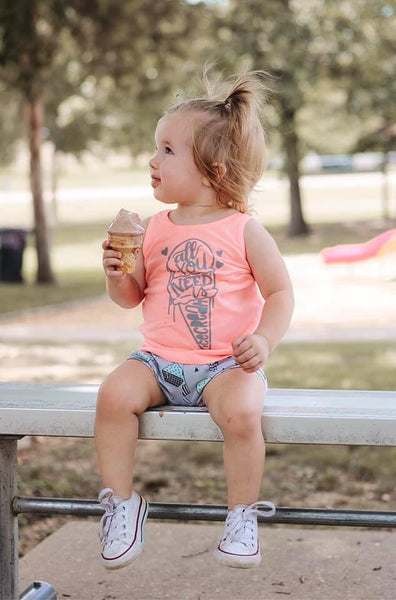 All you need is ice cream FLAMINGO Tank Top