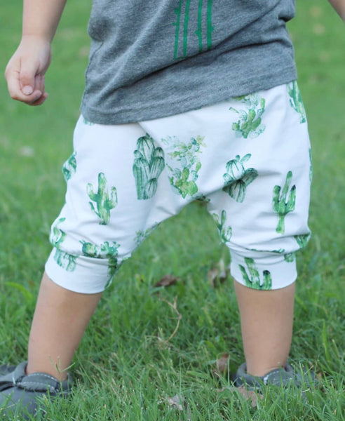 Cactus Cropped Joggers