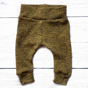 Marled Mustard Sweatpants