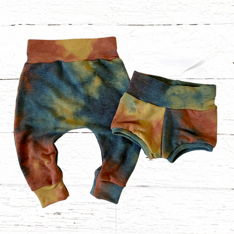 Color Me Tie Dye Joggers or Shorties