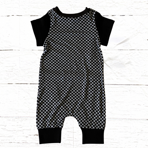 Checker Me Out Romper