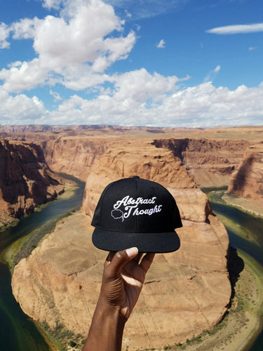 Abstract Thought Logo 6 Panel Snapback Hat