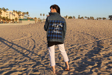 """Love is Pain But Worth The Scars"" Unisex Denim Jacket"