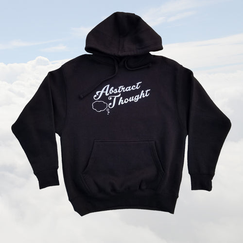 Abstract Thought Brand Logo Hoodie
