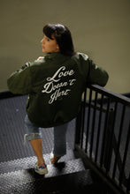 """Love Bomb"" Bomber Jacket"