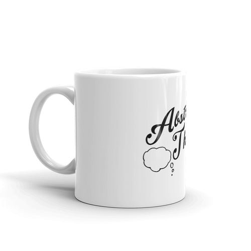 Abstract Thought Logo Ceramic Mug