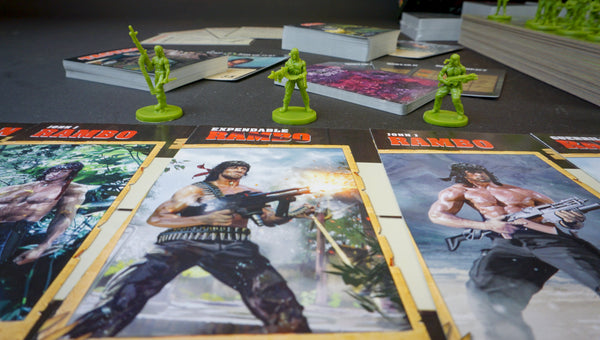 Rambo: the Board Game (Limited Edition Trilogy Collection)