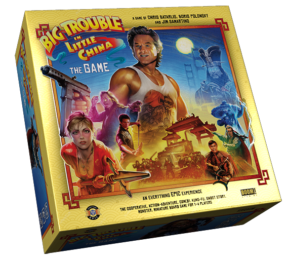 Big Trouble in Little China: The Game (Deluxe Limited Edition)