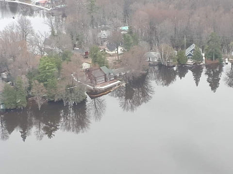 Flooding on Ottawa River