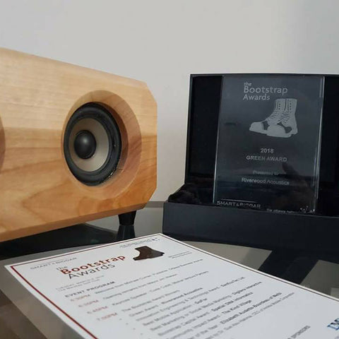 Bootstrap Awards 2018 Winner Riverwood Acoustics