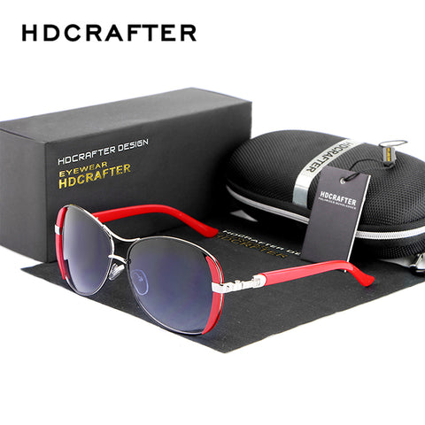 HDCRAFTER  Sunglasses For Women With Carry Case
