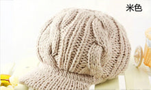 Winter Warm Knitted Peaked Hat