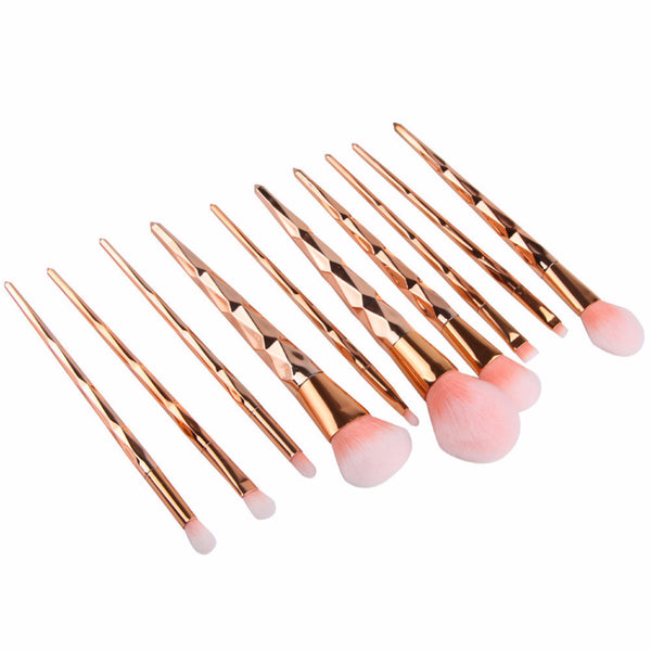 Unicorn Princess Brush Set - 10 Pieces - Unicorn Makeup Brush