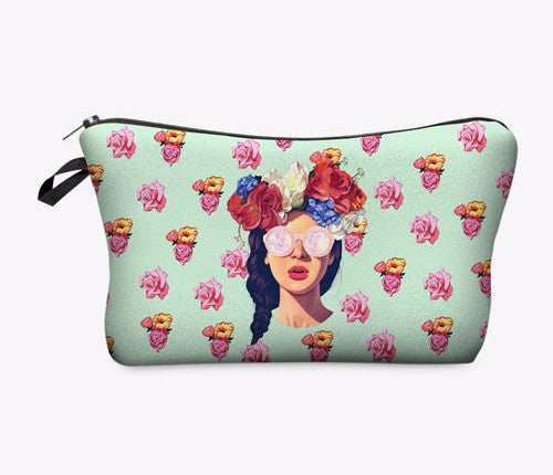 Statement Cosmetic Travel Pouch - Unicorn Makeup Brush