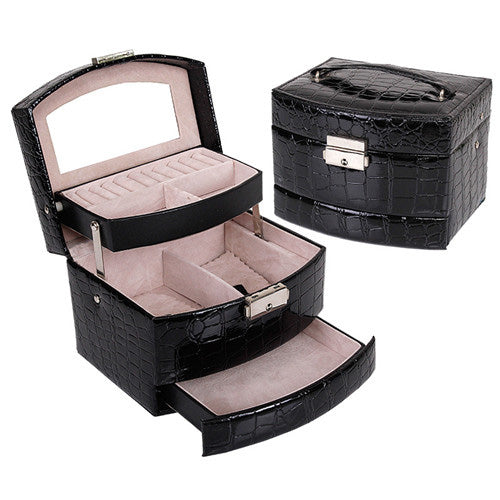 Ultimate Jewelry and Makeup Box Organizer - Unicorn Makeup Brush