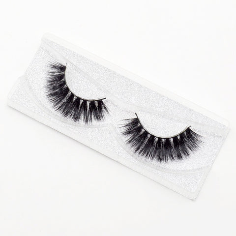 Flutter - 3D Luxury Mink Lashes - Unicorn Makeup Brush
