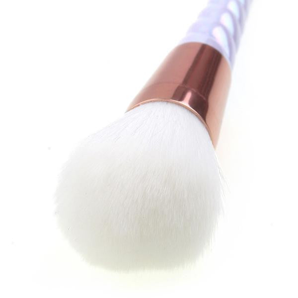 Professional Unicorn Pearl Makeup Brush Set - 10 Pieces with FREE Diamond Case - Unicorn Makeup Brush
