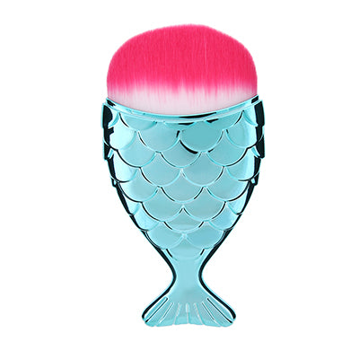 Mermaid Tail Makeup Brush - Watermelon - Unicorn Makeup Brush