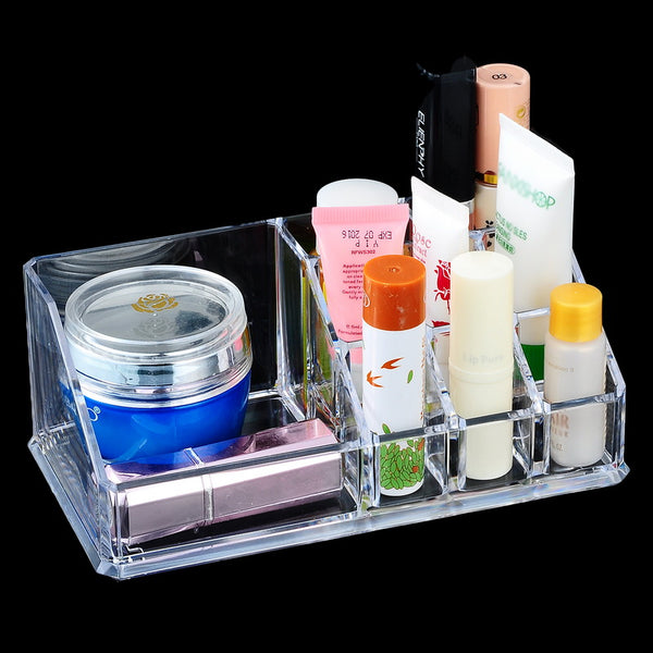 Portable Compacts and Lipstick Holder - Unicorn Makeup Brush