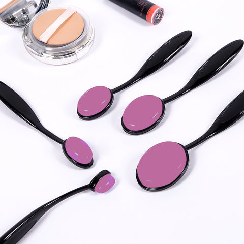 Silicone Oval Brush - Bubblegum Pink - Unicorn Makeup Brush
