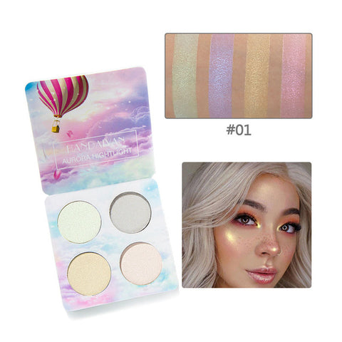 Luminous Unicorn Highlighter - Unicorn Makeup Brush