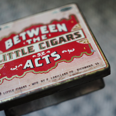 CIGAR TIN FROM BROOKLYN, USA