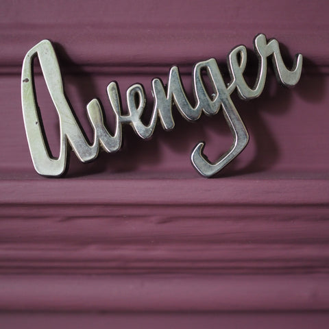 'HILLMAN AVENGER' VINTAGE CAR BADGE